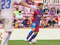 29th August 2021; Nou Camp, Barcelona, Spain; La Liga football league, FC Barcelona versus Getafe; Nico of FC Barcelona