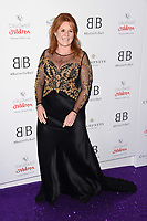 LONDON, UK. June 13, 2019: Sarah Ferguson arriving for Caudwell Butterfly Ball 2019 at the Grosvenor House Hotel, London.<br /> Picture: Steve Vas/Featureflash