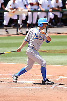 Beau Amaral #25 of the UCLA Bruins plays against the Arizona State Sun Devils on May 29, 2011 at Packard Stadium, Arizona State University, in Tempe, Arizona. .Photo by:  Bill Mitchell/Four Seam Images.