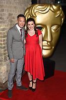 Louis Payne and Leona Vaughan<br /> arriving for the BAFTA Childrens Awards 2017 at the Roundhouse, Camden, London<br /> <br /> <br /> ©Ash Knotek  D3353  26/11/2017