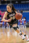 Idaho Vandals guard Connie Ballestero (35) in action during the game between the Idaho Vandals and the Texas Arlington Mavericks at the College Park Center arena in Arlington, Texas. Arlington defeats Idaho 60 to 58....