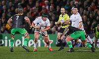 Saturday 7th December 2019 | Ulster Rugby vs Harlequins<br /> <br /> Eric O'Sullivan during the Heineken Champions Cup Round 3 clash in Pool 3, between Ulster Rugby and Harlequins at Kingspan Stadium, Ravenhill Park, Belfast, Northern Ireland. Photo by John Dickson / DICKSONDIGITAL