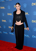 LOS ANGELES, USA. January 25, 2020: Cambrie Schroder at the 72nd Annual Directors Guild Awards at the Ritz-Carlton Hotel.<br /> Picture: Paul Smith/Featureflash