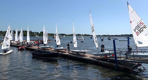The Wexford Laser event was capped at 100 sailors and was fully subscribed within days of opening