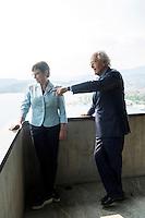 Anita Fetz, Tito Tettamanti, Die Zeit Kolumnisten, Lugano