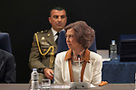 Queen Sofia of Spain attends Madrid´s Music Grants for Youth in Madrid, Spain. June 13, 2013. (ALTERPHOTOS/Victor Blanco)
