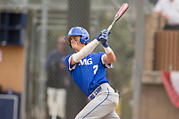 IMG Academy Ascenders Bryce Reagan (7) in the National Classic by Adidas Baseball Game on April 2, 2018 in Fullerton, California. (Donn Parris/Four Seam Images)