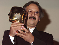 Montreal, 1999-09-06. At the closing ceremonies of the 1999 World Film Festival  tonight in Montreal (Quebec, Canada) ,  the `` Grand Prize of the Americas `` was given by the Jury President ; Swedish actress Bibi Anderssen to Iranian film maker Majid Majidi for his movie `The colour of paradise ``.<br /> Photo :  (c)  Pierre Roussel, 1999<br /> KEYWORDS :  Awards, World Film Festival, Montreal, Quebec, Canada, Majid Majidji