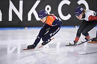 SCHAATSEN: HEERENVEEN: 2020, IJsstadion Thialf, Shorttrack, Invitation Cup, Selma Poutsma, ©foto Martin de Jong