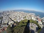 View from Coit Tower, San Francisco. Bob & Lou's trip to California Nov. 2015. (Bob Gathany Photographer)