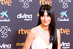 Singer Aitana attends the red carpet previous to Goya Awards 2021 Gala in Malaga . March 06, 2021. (Alterphotos/Francis González)