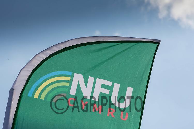 NFU Cymru Flag<br /> ©Tim Scrivener 07850 303986