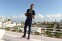 MIAMI BEACH, FL - OCTOBER 05: YFN Lucci poses for a portrait during the Empire Records DJ party held at Skydeck on October 5, 2018 in Miami Beach, Florida. Credit: mpi04/MediaPunch