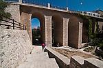 Polignano a Mare  è un comune italiano di 17.797 abitanti della provincia di Bari, in Puglia. Il nucleo più antico della cittadina sorge su uno sperone roccioso a strapiombo sul mare Adriatico a 33 chilometri a sud del capoluogo. L'economia del paese è essenzialmente basata sul turismo, l'agricoltura e la pesca.<br /> Di notevole interesse naturalistico sono le sue grotte marine e storicamente importanti sono il centro storico e i resti della dominazione romana. Tra questi ultimi il ponte della via Traiana, tuttora percorribile, che attraversa Lama Monachile.<br /> Dal 2008, Polignano a Mare ha sempre ricevuto la Bandiera Blu, riconoscimento conferito dalla Foundation for Environmental Education alle località costiere europee che soddisfano criteri di qualità relativi a parametri delle acque di balneazione e al servizio offerto in relazione a parametri quali la pulizia delle spiagge e gli approdi turistici. <br /> La chiesa Matrice intitolata a Santa Maria Assunta e affacciata sulla piccola piazza Vittorio Emanuele, cuore del centro storico, fu cattedrale fino al 1818, quando la piccola diocesi di Polignano fu aggregata a quella di Monopoli. All'interno sono custodite alcune opere attribuite allo scultore Stefano da Putignano, attivo tra il XVI e il XVII secolo, e l'importante Polittico della Madonna con Bambino e Santi, del XV secolo su tavola dorata di Bartolomeo Vivarini restaurato nel 2007 a cura dell'ARPAI, oltre ad una moltitudine di altre piccole opere ed a preziosi paramenti sacri donati dall'ex Monastero di San Benedetto, oggi inesistente.<br /> Nella frazione di San Vito, sulla costa a nord del paese, proprio a ridosso del porticciolo si staglia l'imponente complesso dell'abbazia dei Benedettini. (fonte Wikipedia)