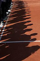 20-08-11, Tennis, Amstelveen, Nationale Tennis Kampioenschappen, NTK, Schaduw van umpires