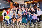 Ann Lynch from Ashgrove celebrating her 60th birthday in Benners Hotel on Saturday night.<br /> Seated l to r: Pat O'Connor, Callum Naughton, Hollie, Kelly Ann, Ann, Lottie May and Paul Lynch and Ciss O'Connor.