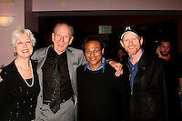 """Judy Howard and Rance Howard with Clinton H. Wallace and Ron Howard<br />at the Los Angeles Premiere of """"Grizzly Park"""". Laemmle Sunset 5 Cinemas, West Hollywood, CA. 04-04-08<br />Dave Edwards/DailyCeleb.com 818-249-4998"""