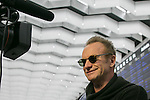 Chiba, Japan - British singer-songwriter Sting (Gordon Matthew Thomas Sumner) speaks to reporters upon his arrival at Narita International Airport in Chiba, Japan on November 27, 2016. Sting is in Japan to promote his twelfth solo studio album 57th & 9th. (Photo by AFLO)