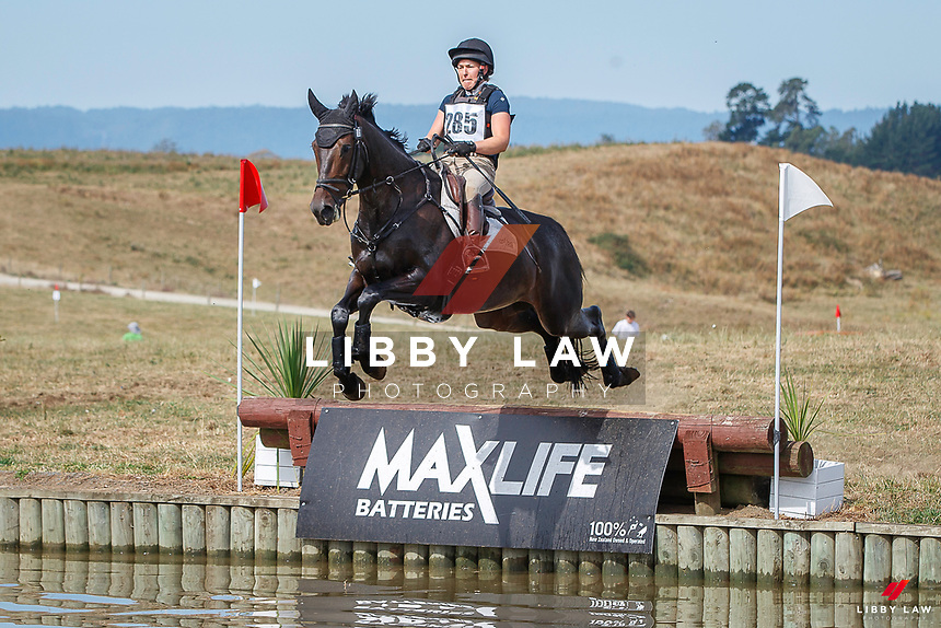 NZL-Christen Lane rides Sweet Couture. CCN105-S. 2021 NZL-RANDLAB Matamata Horse Trial. Sunday 21 February. Copyright Photo: Libby Law Photography.