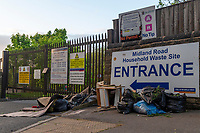Midland Road Household Waste Recycling CentreFly Tipping - 10.05.2020