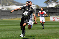 Rory McKeown of Team Wellington during the ISPS Handa Men's Premiership - Team Wellington v Waitakere Utd at David Farrington Park,Wellington on Saturday 30 January 2021.<br /> Copyright photo: Masanori Udagawa /  www.photosport.nz