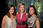 """From left: Kelly Garwood, Franny Jones and Angela Lee at the Houston Museum of Natural Science's """"Slither to the Sound: A Prehistoric Party"""" Saturday March 02, 2013.(Dave Rossman/ For the Chronicle)"""