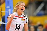 06.11.2010, Nippon Gaishi Hall, Nagoya, JPN, Volleyball Weltmeisterschaft Frauen 2010,  Deutschland ( GER ) vs. Italien ( ITA ), im Bild Margareta Kozuch (#14 GER). Foto © nph / Kurth