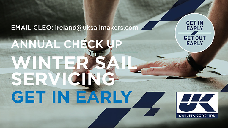 The Winter period is the best time for getting your sails serviced