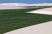 Parque Nacional dos Lençóis Maranhenses. Maranhão. Foto de Ricardo Azoury.