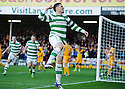 CELTIC'S GARY HOOPER CELEBRATES AFTER HE SCORES CELTIC'S SECOND