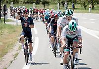 Michal Kwiatkowski (POL/INEOS Grenadiers) ordering 2 beers mid-race...<br /> <br /> 73rd Critérium du Dauphiné 2021 (2.UWT)<br /> Stage 6 from Loriol-sur-Drome to Le Sappey-en-Chartreuse (167km)<br /> <br /> ©kramon