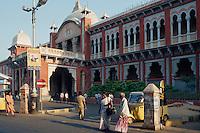 Egmore Railwaystation, Madras, Tamil Nadu, Indien
