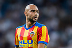 Simone Zaza of Valencia CF reacts  during their La Liga 2017-18 match between Real Madrid and Valencia CF at the Estadio Santiago Bernabeu on 27 August 2017 in Madrid, Spain. Photo by Diego Gonzalez / Power Sport Images