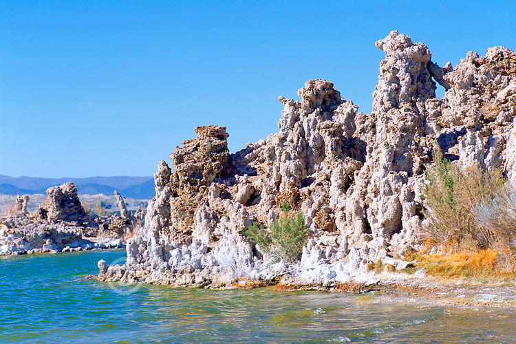 Mono Lake, California, USA - Tufa Towers and Rock Formations near Lee Vining