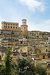 Italy, Calabria, Corigliano Calabro: town at Province Cosenza with medieval centre and Aragon castle