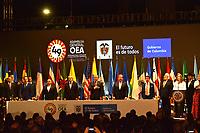 MEDELLÍN - COLOMBIA ,28-06-2019:Asamblea General de La Organización de Estados Americanos (OEA)/ General Assembly of the Organization of American States (OEA). Photo: VizzorImage / León Monsalve / Contribuidor.