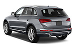 Car pictures of rear three quarter view of 2017 Audi Q5 Premium 5 Door SUV Angular Rear