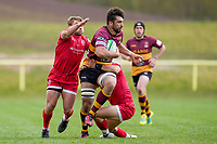 Alex HUMFREY (20) of Ampthill during the Greene King IPA Championship match between Ampthill RUFC and Jersey Reds at Dillingham Park, Ampthill, England on 1 May 2021. Photo by David Horn.