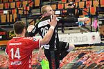 Essens Firnhaber, Lucas beim Wurf beim Spiel in der Handball Bundesliga, Die Eulen Ludwigshafen - Tusem Essen.<br /> <br /> Foto © PIX-Sportfotos *** Foto ist honorarpflichtig! *** Auf Anfrage in hoeherer Qualitaet/Aufloesung. Belegexemplar erbeten. Veroeffentlichung ausschliesslich fuer journalistisch-publizistische Zwecke. For editorial use only.