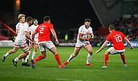 9th November 2019 | Munster vs Ulster<br /> <br /> Stuart McCloskey during the Round 6 PRO14 League clash between Munster Rugby and Ulster Rugby at Thomond Park, Limerick, Ireland. Photo by John Dickson / DICKSONDIGITAL