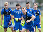 St Johnstone Training…31.07.19<br />Liam Craig pictured during training ahead of Saturday's opening game of the season at Celtic Park.<br />Picture by Graeme Hart.<br />Copyright Perthshire Picture Agency<br />Tel: 01738 623350  Mobile: 07990 594431