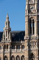 Europe/Autriche/Niederösterreich/Vienne: Le  New Rathaus - Hôtel de Ville