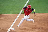 Team USA JP Crawford (3) running the bases during the MLB All-Star Futures Game on July 12, 2015 at Great American Ball Park in Cincinnati, Ohio.  (Mike Janes/Four Seam Images)