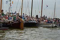 ZEILSPORT: LEMMER: 15-08-2018, SKS Skûtsjesilen, ©foto Martin de Jong