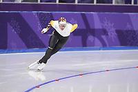 OLYMPIC GAMES: PYEONGCHANG: 11-02-2018, Gangneung Oval, Long Track, 5000m Men, Bart Swings (BEL), ©photo Martin de Jong