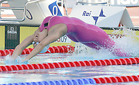 France's Alexianne Castel swims during the Women's 200m Backstroke final at the Swimming World Championships in Rome, 1 August 2009..UPDATE IMAGES PRESS/Riccardo De Luca