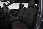 Front seat view of a 2019 Dodge Durango R/T RWD 5 Door SUV front seat car photos