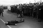 GREENHAM COMMON WOMENS PEACE CAMP MOVEMENT 1980S ENGLAND UK