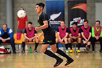 Canterbury United Futsal Dragons v Southern United Futsal. Men's Futsal SuperLeague Southern Series tournament at ASB Sports Centre in Wellington, New Zealand on Sunday, 1 November 2020. Photo: Dave Lintott / lintottphoto.co.nz