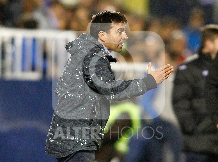 CD Leganes' coach Asier Garitano during La Liga match. December 3,2016. (ALTERPHOTOS/Acero)